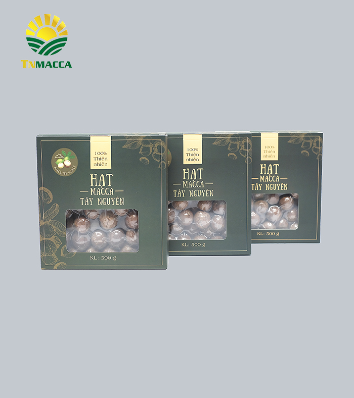 Combo 6 hộp Macca sấy nứt size 19-21 mm 500g