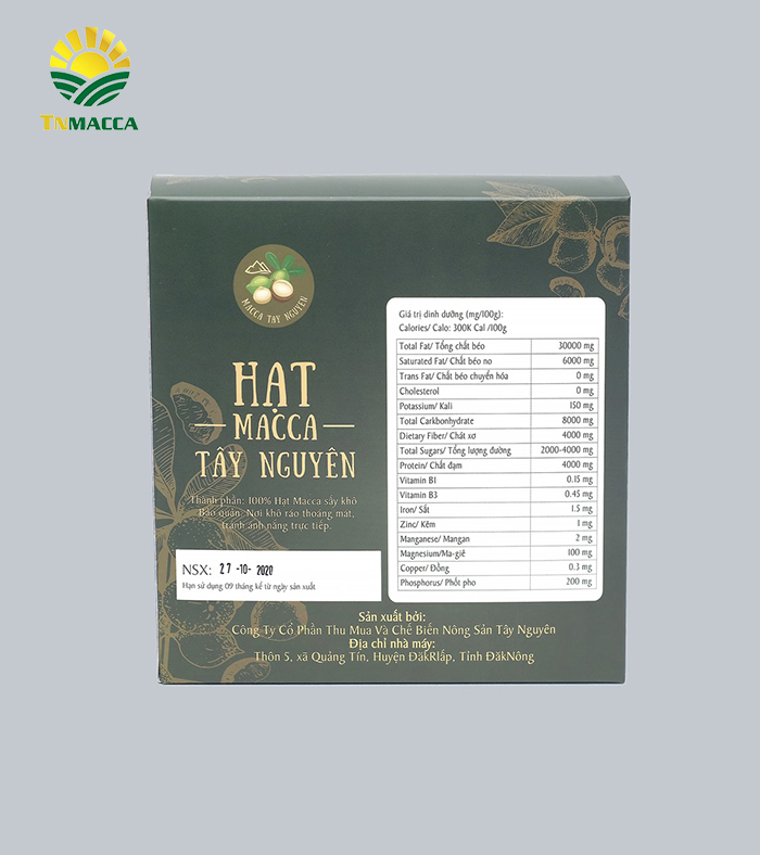 Combo 6 hộp Macca sấy nứt size 26-35 mm 500g ( 3 Kg )