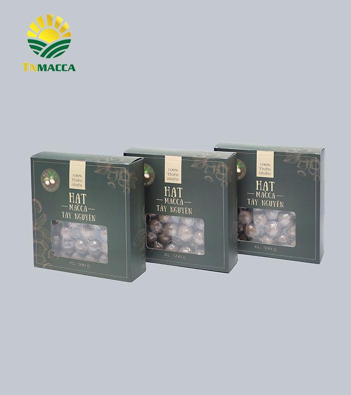 Combo 6 hộp Macca sấy nứt size 26-35 mm đặc biệt 500g ( 3 Kg )